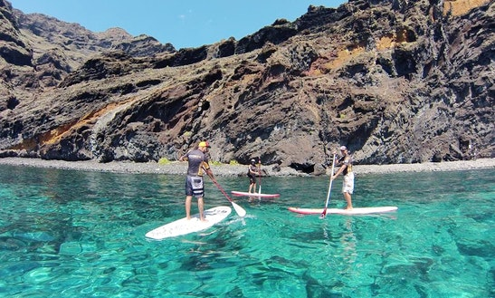 Paddleboard Rental & Courses In Arona, Spain
