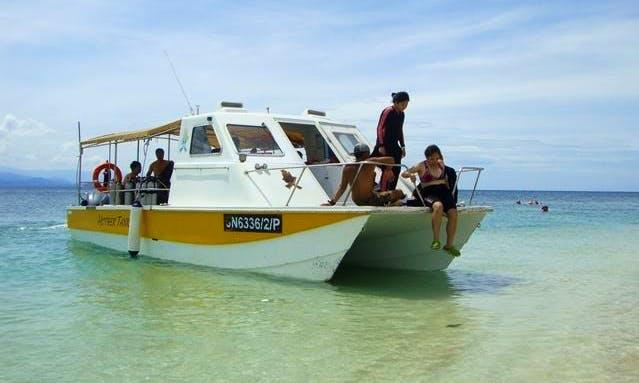 'Mother Tanker' Boat Diving Trips in Kota Kinabalu