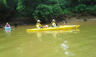 Tandem Kayak Rental on Big Cedar Creek in Cave Spring, Georgia