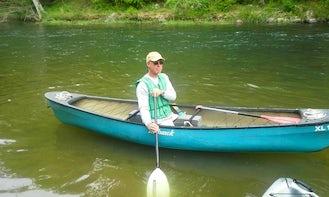 3 seater Canoe Rental in Cave Spring, Georgia