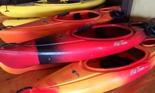 Kayak In Bigfork