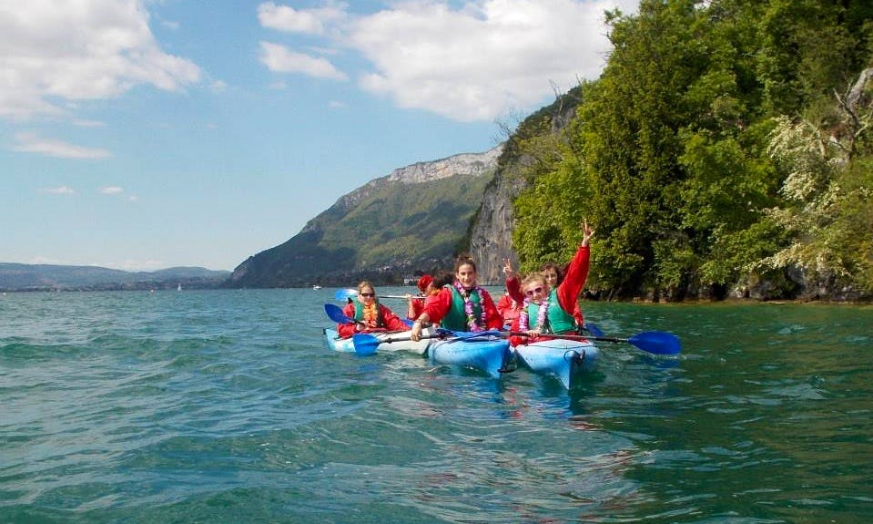 Single Kayak Lesson & Trip in Annecy, France