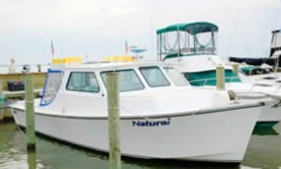 40ft Head Boat Fishing Charter In Ocean City, Maryland