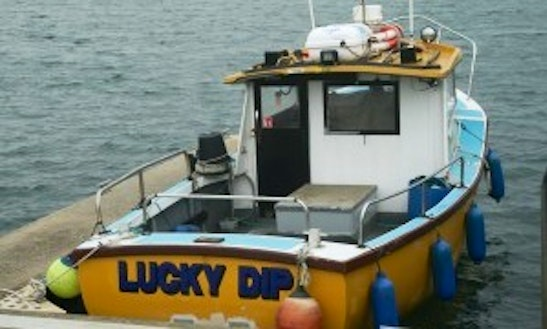 """""""lucky Dip"""" Head Boat Fishing Charters In Dunragit, United Kingdom"""