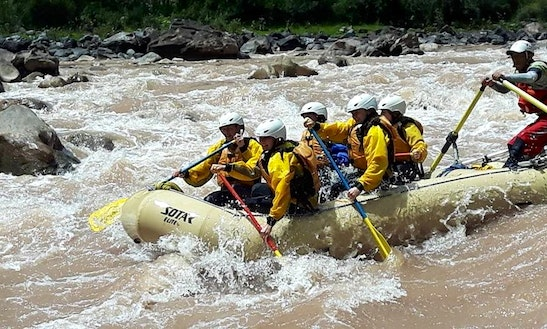 One Day Rafting Trip (class Iii-iv) In Cusco, Peru