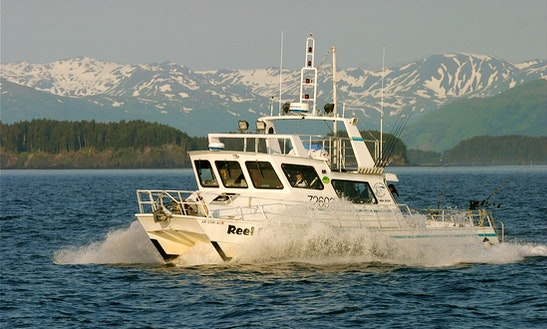 42' Power Catamaran Charter In Ouzinkie, Alaska