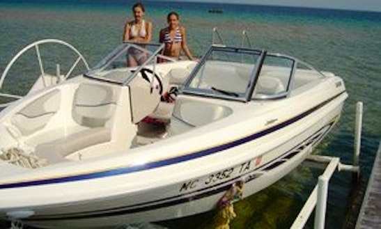 Deck Boat Rental In Green Lake Township, Michigan