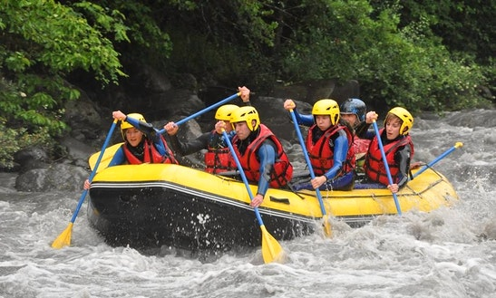 Rafting Trips In Les Thuiles, France