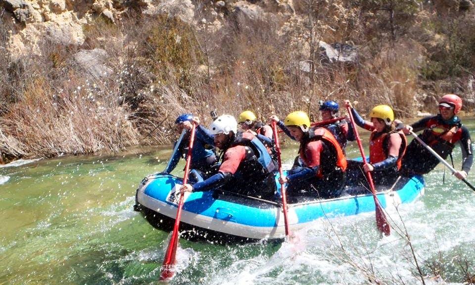River Rafting In Zaorejas Castilla