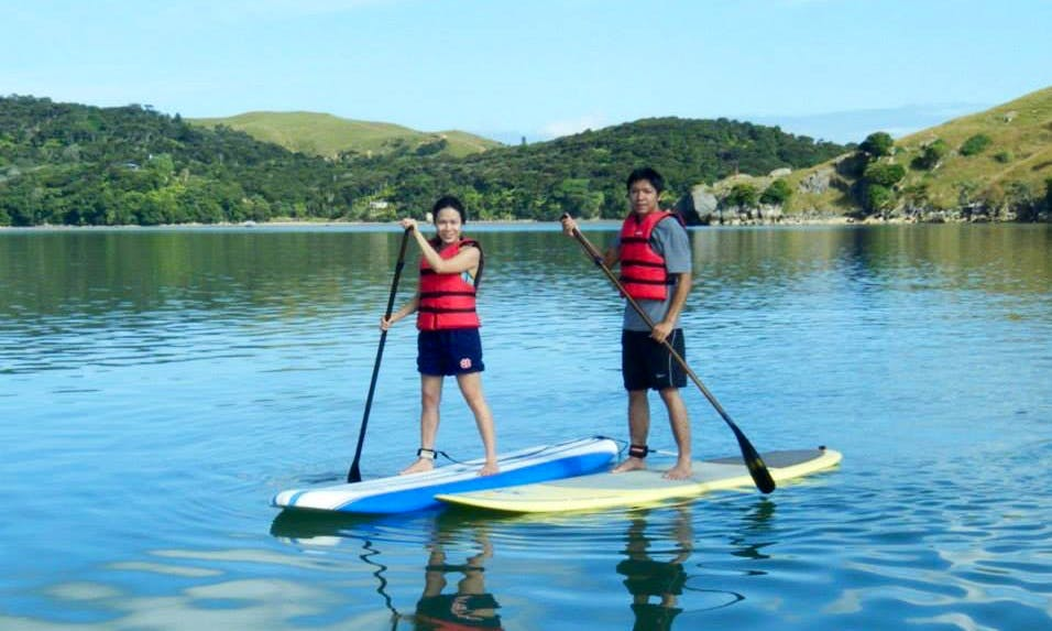 Stand Up Paddleboard Hire and Lessons in Raglan