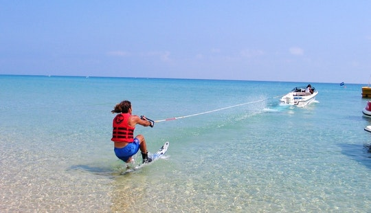 Water Skiing In Pernera