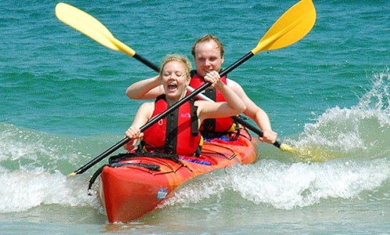Double Kayak Hire In Auckland, New Zealand