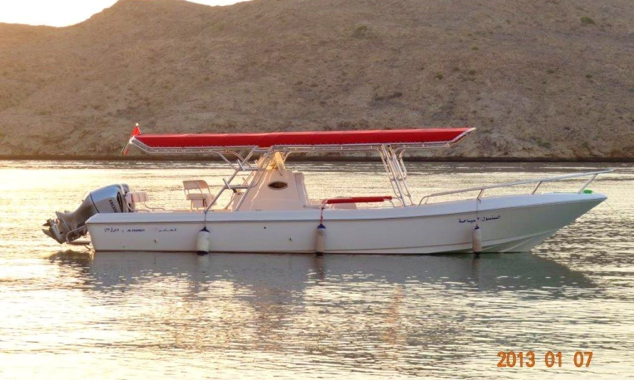 "34' Fishing Charter ""Sansool 2"" In Muscat"