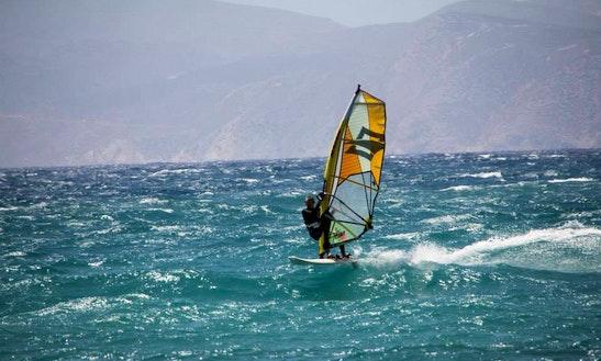 Windsurfing Lessons & Rentals In Santorini