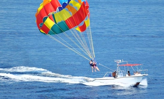 Exciting Parasailing Flights In Kuta Selatan, Indonesia