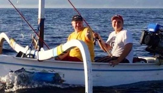 Jon Boat Fishing Charter In Kuta Selatan
