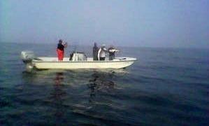 25' Center Console Fishing Charter in Jamaica Bay, Raritan bay & NY Harbor