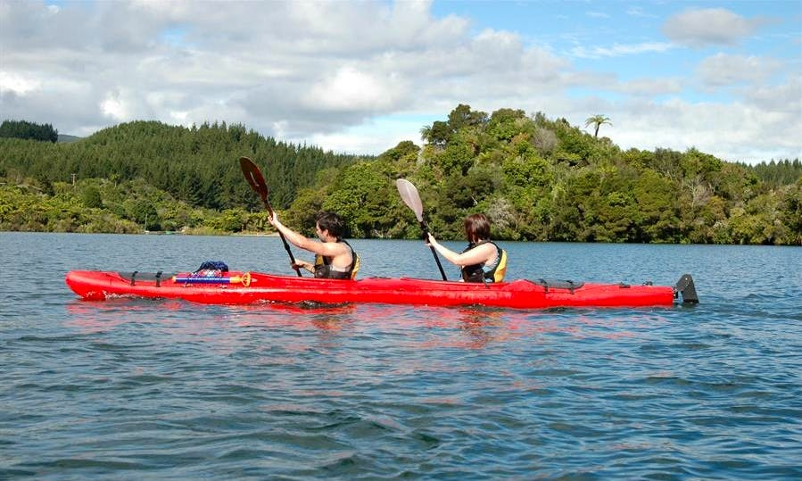 2-Person Kayak Trips in Rotoiti Forest