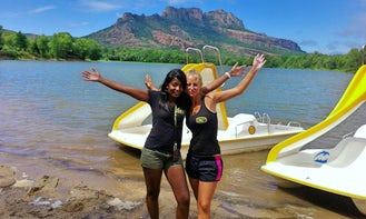 5 seater Paddle Boat Hire in Roquebrune-sur-Argens