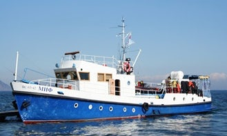 "69' ""Myth"" Diving Trips in Irkutsk, Russia"