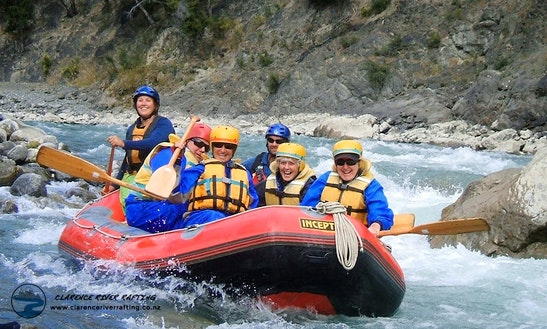 White Water Rafting Trips In Clarence