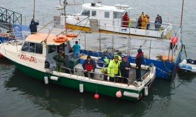 "Fishing Charter ""Deora Dé"" In Ireland"