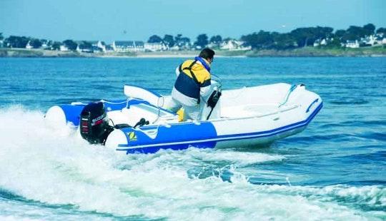16' Zodiac Medline Speedboat In Saint-florent