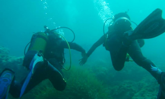 Discover Scuba Diving In Cabo De Palos
