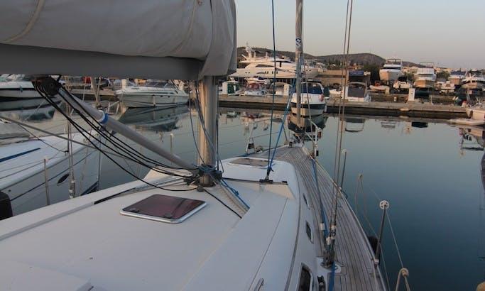 39ft Cruising Monohull Boat Rental in Limassol, Cyprus