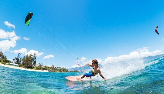 Kitesurfing Lessons In Alona Beach