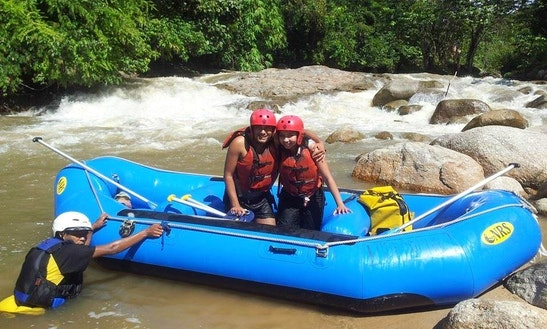 White Water Rafting Trips In Slim River, Perak