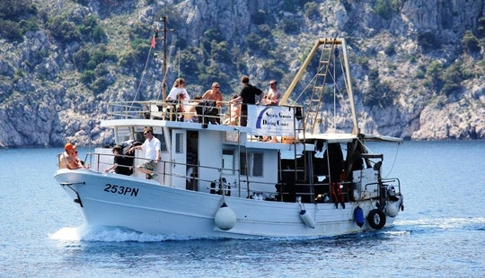 Draga Boat Diving Trips In Krk
