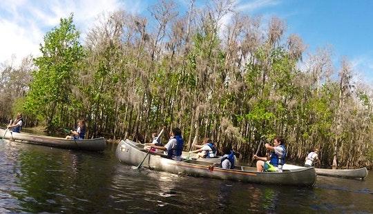 15' Canoe Rental & Tours In Kissimmee, Florida
