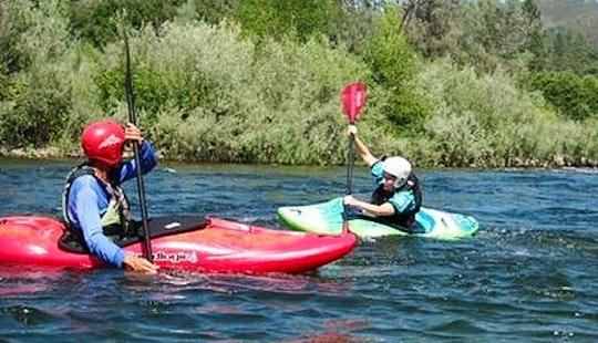 Kayak Lessons In The Sungai Geroh River