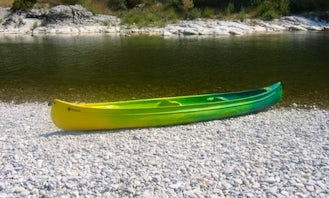 Guided Canoe Adventure in Vallon-Pont-d'Arc, France