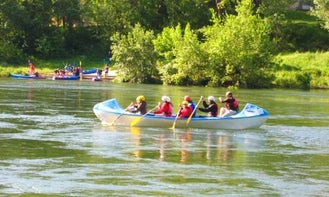 8-Person Canoe Hire & Trips in Vallon-Pont-d'Arc, France