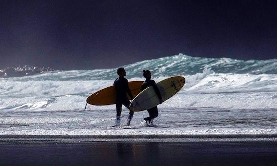 Surfing In Akaroa