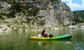 Kayaking Trips in Vallon-Pont-d'Arc, France
