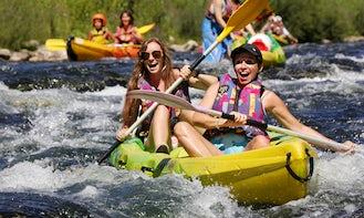 Double Kayak Hire & Trips in Vallon-Pont-d'Arc, France