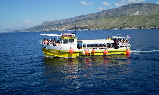 'omisanin' Boat Fishing Trips In Omiš, Croatia