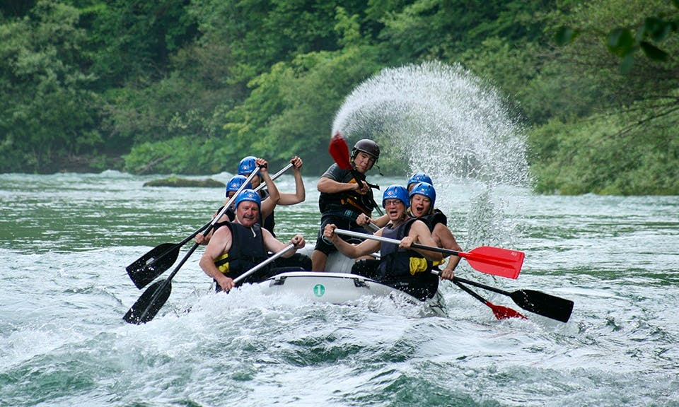 Daily Rafting Trips in Bled