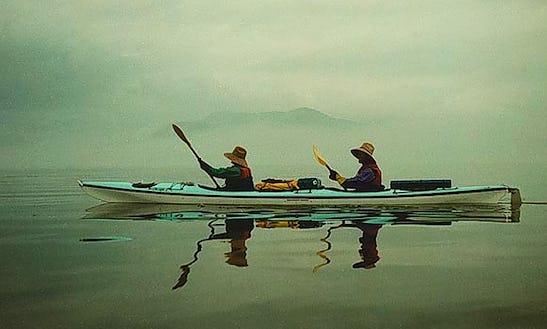 16' Tandem Kayak Rental  In Lopez Island, Washington