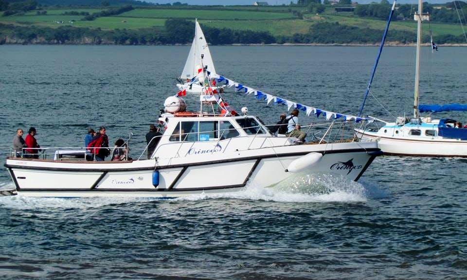 40' Head Boat Fishing Charters in New Ross, Ireland