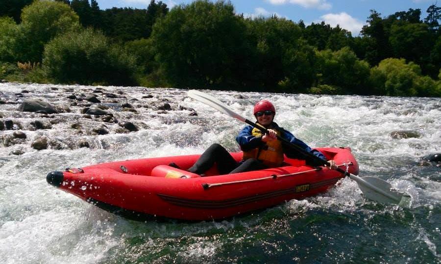 Single Kayak Trips in Whakapapa River