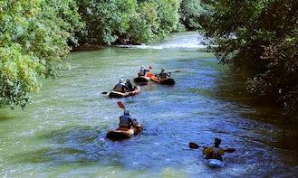 Canoe Kayaking In Las Rozas de Valdearroyo