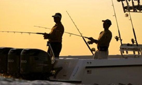 38' Center Console Fishing Charters In Ocho Rios, Jamaica