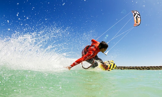 Kiteboarding In Tarifa, Spain