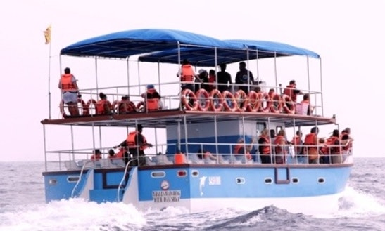 Enjoy Boat Tour In Weligama, Sri Lanka On This Passenger Boat