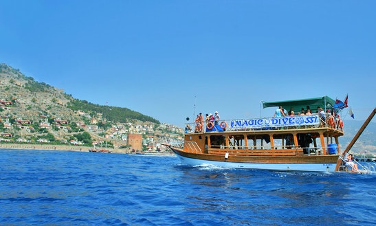 Diving Boat Trips In Turkey