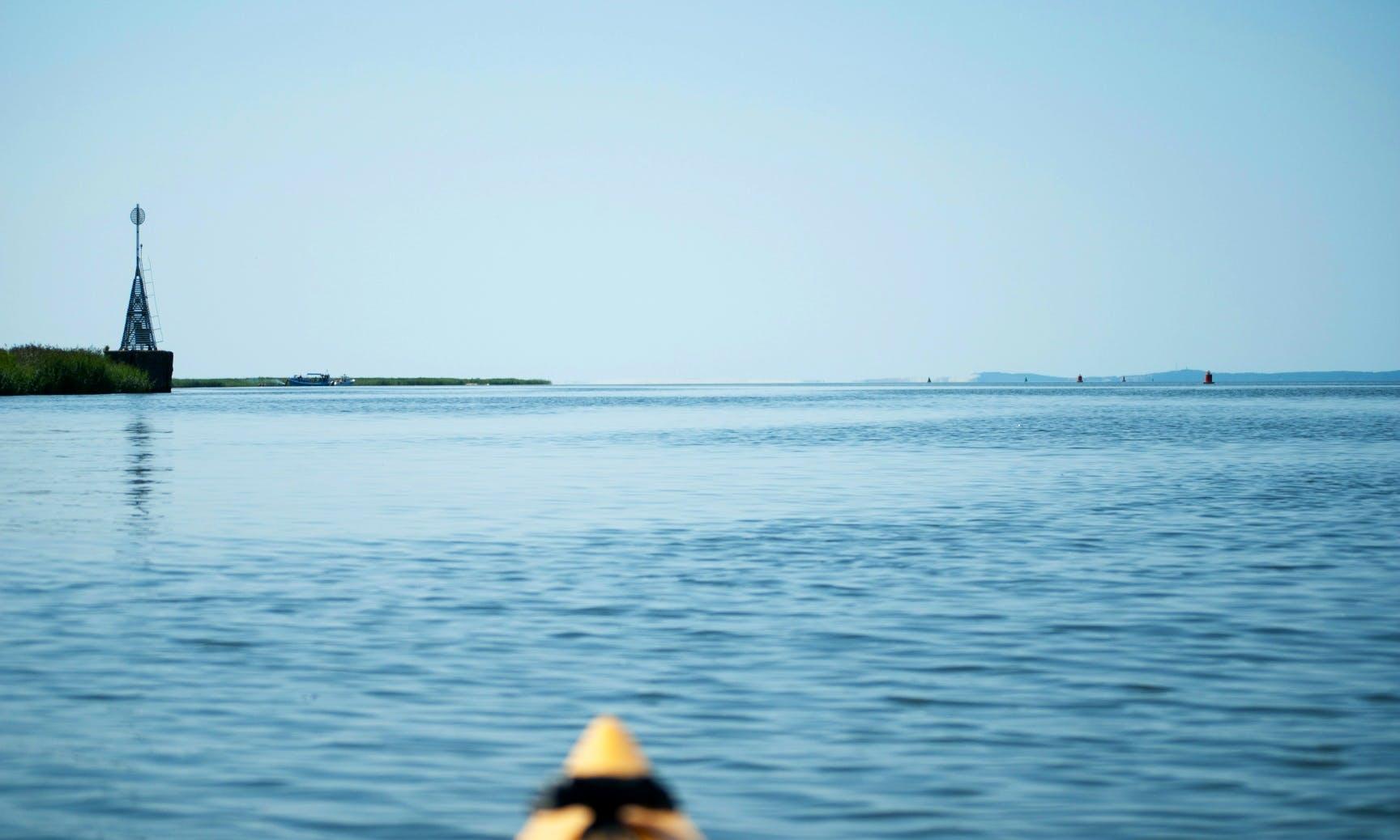 Kayak tour to Nemunas river delta from Klaipeda